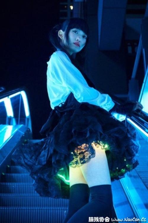 日本新发明 会发光的裙子 可根据活动幅度调整灯光大小 - Page 3